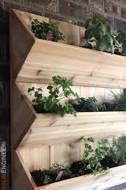 wall mounted planter boxes garden