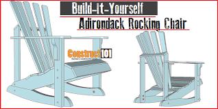 Adirondack rocking chair plans Woodshop Adirondack Rocking Chair Plans Construct101 Adirondack Rocking Chair Plans Construct101