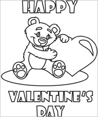 Small Picture Valentines Day Coloring Pages Bestofcoloringcom