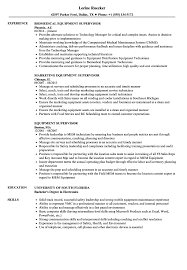Heavy Equipment Supervisor Resume Equipment Supervisor Resume Samples Velvet Jobs 3