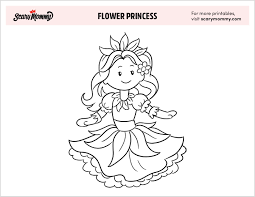 For more magical elegance pages to color, or to have a custom coloring page drawn just for you! 10 Free Printable Princess Coloring Pages For Kids Scary Mommy