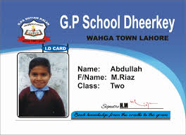 Identity Card Format For Student Student Id Card Template Mommymotivation