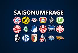 Seasons run from august to may. Saisonumfrage Zur 1 Bundesliga Die Falsche 9