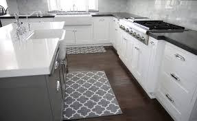 3 piece kitchen rug set grey