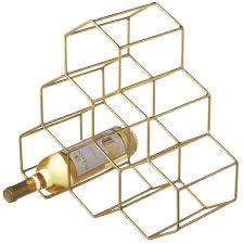 wire wine rack. Designer Clothes, Shoes \u0026 Bags For Women | SSENSE. Wine Bottle HoldersWine BottlesWine Rack DesignHoneycombsWire Wire
