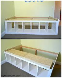 Twin Platform Bed Ikea Hack Twin Storage Bed Ikea Hack Twin Platform