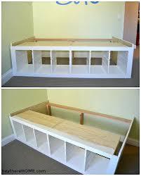 Twin Platform Bed Ikea Hack Twin Storage Bed Ikea Hack Twin Platform