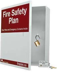 Fire Safety Plan Box – Fireplansupply.ca