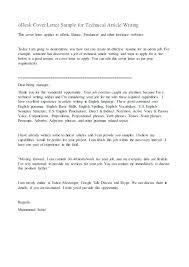 Freelance Writer Cover Letter Freelance Writing Resume Example