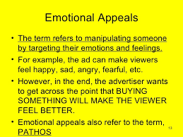 recognizing logical fallacies and emotional appeals 13