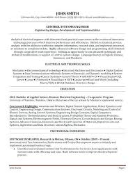 Resume Excel Template Click Here To Download This Control Systems