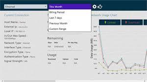 Get Data Usage Microsoft Store