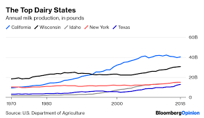 Dairy Farms Fall Victim To The Productivity Revolution