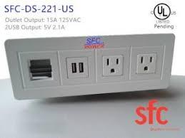 desk power outlet. Edge Mount Desktop Power Outlet With USB 2 Port , / Data Distribution Unit Desk C