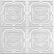 Decorative Ceiling Tiles Lowes Armstrong 60Pack Tin Look Wellington Homestyle Ceiling Tile 30