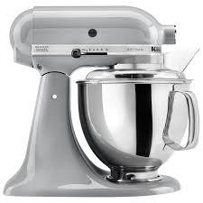 kitchenaid artisan stand mixer 5qt 325 watt metallic chrome stand mixers best canada