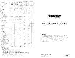 shure 444 microphone wiring diagram shure 444 microphone wiring shure 444 mic wiring diagram shure home wiring diagrams