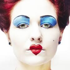 diy queen of hearts costume makeup tutorial