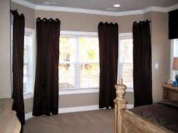 bay window curtain rods designs choices