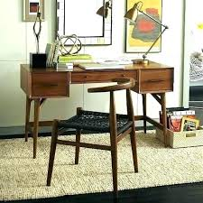 west elm style furniture. Delighful Style Mid Century Computer Desk Office Furniture Style West Elm  Desks Emo To Wood Intended