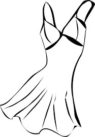Small Picture Vintage Dress Coloring Page Wecoloringpage