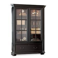 sliding glass door bookcase cabinet