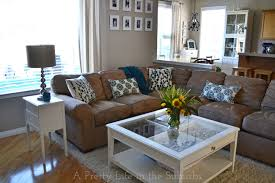 Wooden Living Room Fascinating My Living Room Refresh For Late SummerEarly Fall A Pretty Life In