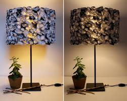 unique diy lighting. Stylish 15 Chic And Creative Recycled Lamp Shade Diy Ideas On Allt Unique Homemade Shadese Lighting R
