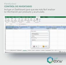 Inventario Excel Plantilla Premium Control De Inventario Con Dashboard