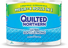 New $1/1 Quilted Northern Bath Tissue printable coupon! &  Adamdwight.com