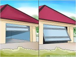 average cost of new garage doors luxury how to install a garage door opener with wikihow