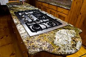 carnival granite with a half inch beveled edge