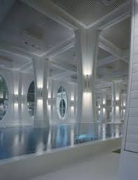 tamina thermal baths instead of being freestanding the form of the building volume emerges from big heatherwick futuristic google hq