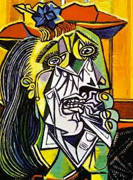 cubist portraits pablo picasso woman in tears 1937