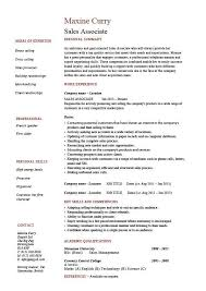 Fresh Retail Sales Associate Resume Fresh Examples Retail Resumes ...