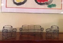 woven metal furniture. Image Is Loading Mid-Century-WSculpture-Design-Mini-Modern-Woven-Metal- Woven Metal Furniture R