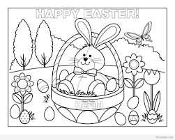 New 30 Easter Egg Coloring Pages Free Coloring Book