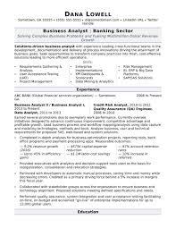 Junior Financial Analyst Resume Fresh Business Analyst Resume Sample