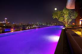 Copy of Sofitel So BangkokInfinity Pool Night View at Bangkokcom