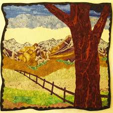 Mini-landscape Quilt Pattern and Tutorial: Part 1 – Zazu's Stitch Art & Our mini-landscape quilt pattern will look something like this Adamdwight.com