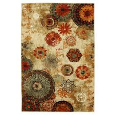 6 9 area rugs for your home flooring inspiration caravan medallion multi rug