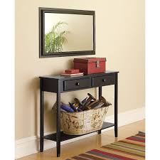 Image of: Console Table Entryway Mirror