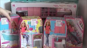 Barbie Kitchen Furniture Toys R Us Haul New Released Barbie Furniture For Barbie House