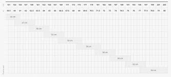 Trek Frame Size Chart Trek Emonda Sl 6 2016 Sizing Chart Bike Forums