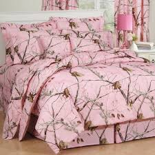realtree ap pink 3 piece twin xl reversible comforter set tap to expand