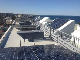 solar power for apartment buildings strata management companies manly national building looking north