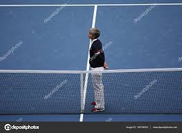 chair umpire marija cicak ready for us open 2016 women final match between roberta vinci and