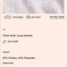 Lou And Grey Size Chart Lou Grey Softserve Slub Cotton Cropped Tee