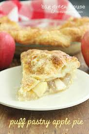 puff pastry apple pie big green house