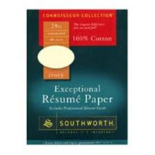 Southworth Resume Paper Magnificent Southworth Resume Paper 6060 In X 60 In 60 Lb Ivory 60Pack Henry